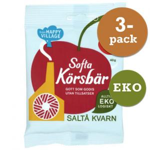 Softa Körsbär EKO 3x40g Saltå Kvarn