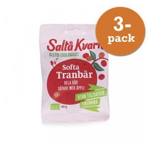 Softa Tranbär EKO 3x40g Saltå Kvarn