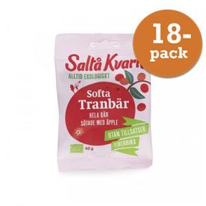 Softa Tranbär EKO 18x40g Saltå Kvarn