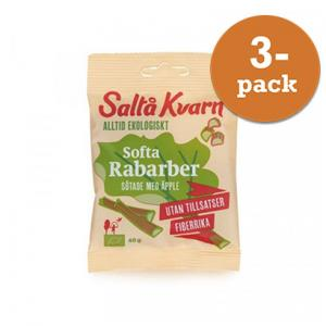 Softa Rabarber EKO 3x40g Saltå Kvarn