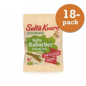Softa Rabarber EKO 18x40g Saltå Kvarn