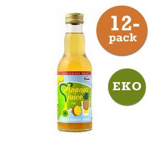 Ananasjuice Eko Saltå Kvarn 12x200ml