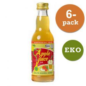 Äppeljuice Eko 6x200ml Saltå Kvarn