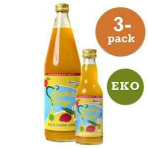 Juice Äpple & Mango Eko 2x750ml Saltå Kvarn