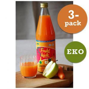 Juice Fruktkick Eko 2x750ml Saltå Kvarn
