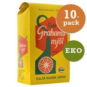 Grahamsmjöl 10x1.25kg Saltå Kvarn