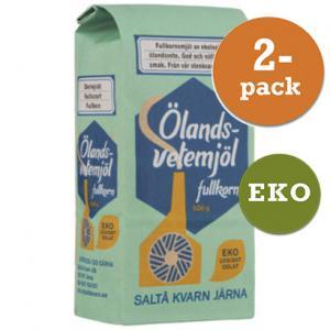Ölandsvetemjöl EKO 2x500g Fullkorn Saltå Kvarn