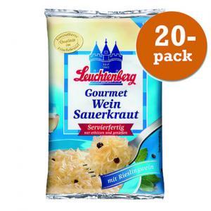 Vitvinsurkål 20x520g Gourmet Leuchtenberg