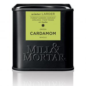 Grön Kardemumma Hel Eko 3x25g Mill & Mortar