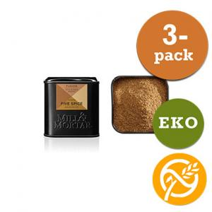 Kinesisk Five Spice EKO 3x50g Mill & Mortar