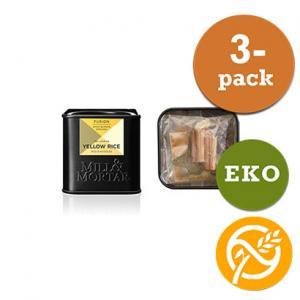 Yellow Rice EKO 3x15g Mill & Mortar