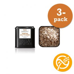 Karl Johan Salt 3x80g Mill & Mortar