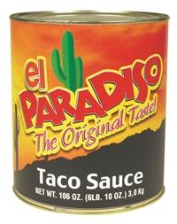 Tacosås El Paradiso 6x3kg