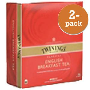 Te English Breakfast Twinings 2x100 Påsar