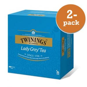 Te Lady Grey Twinings 2x100 Påsar