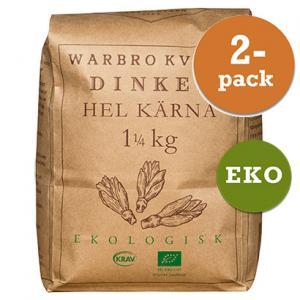 Dinkel Hel Kärna 2x1,25kg Eko/Krav Warbro Kvarn