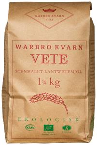 Vete - Rustikt Lantvete Siktat 2x1,25kg Warbro Kvarn