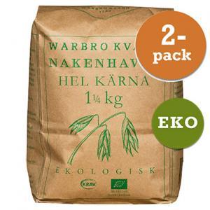Nakenhavre Hel Kärna 2x1,25kg Warbro Kvarn