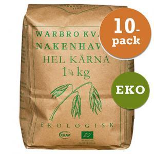 Nakenhavre Hel Kärna 10x1,25kg Warbro Kvarn