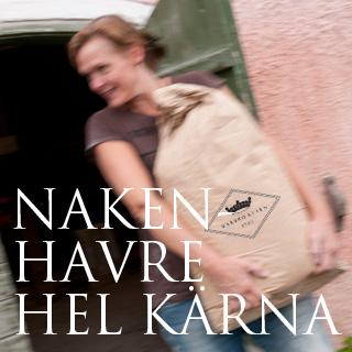 NakenHavre Hel Kärna 25kg Warbro Kvarn