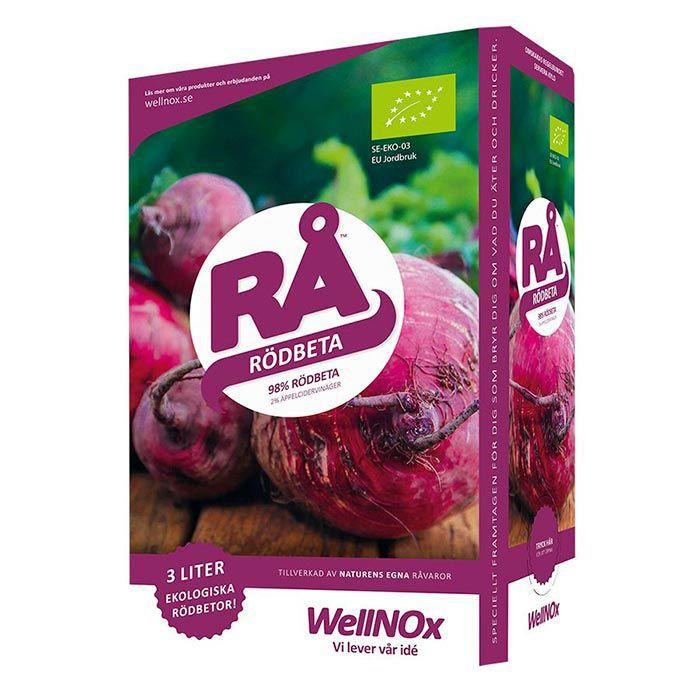 Juice Rödbeta Eko BiB 3liter RÅ (Bag-In-Box)