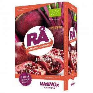 Juice Rödbeta & Granatäpple Eko BiB 3liter RÅ (Bag-In-Box)