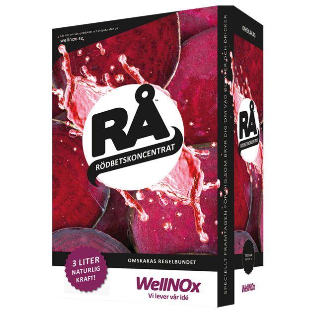 Rödbetskoncentrat BiB 3liter RÅ (Bag-In-Box)