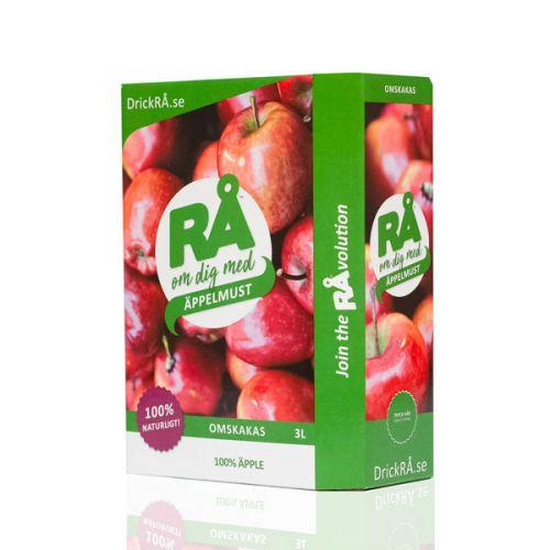 Äppelmust Eko BiB 3liter RÅ (Bag-In-Box)