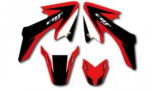 Trimkit CRF 50 2004-2008 Red