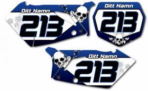 Nr-kit RMZ 450 2005-2007 Blue