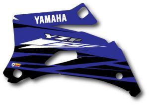 Kylvingsdekal YZF 250-450 2008-2009 Blue Classic