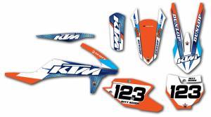 KTM komplett dekalkit anpassat till valfri modell.
