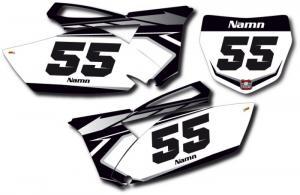 Nr-kit YZF 250 2010-2013 Black Classic