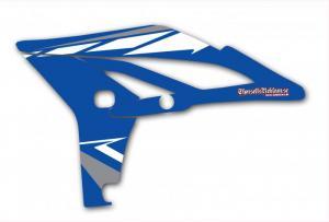 Kylvingsdekal YZF 250 2010-2013 Blue Classic