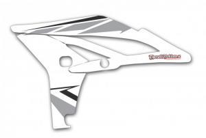 Kylvingsdekal YZF 250 2010-2013 White Classic