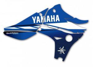 Kylvingsdekal YZF 450 2010-2013 Blue Classic