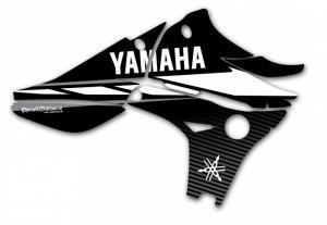 Kylvingsdekal YZF 450 2010-2013 Black Classic
