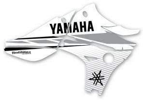 Kylvingsdekal YZF 450 2010-2013 White Classic