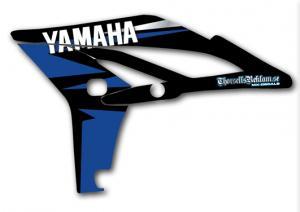 Kylvingsdekal YZF 250 2010-2013 Blue, black & silver