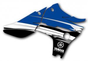 Kylvingsdekal YZF 450 2010-2013 Curved
