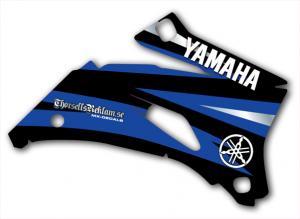 Kylvingsdekal YZF 250-450 2008-2009, Blue, Black & Silver