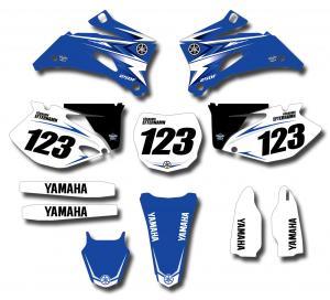 Yamaha komplett dekalkit anpassat till valfri modell.