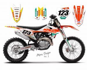 KTM Stripes Design