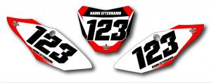 CRF 450 2017-18 / CRF 250 2018 Nr-kit Gradient Thin Lines