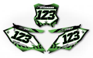 Nr-kit KXF 250 2017-18 Green Tracks