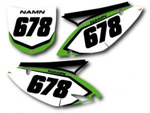 Nr-kit KXF 250 och 450 2009-2011 Classic
