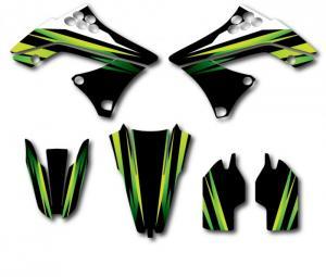 Trimkit KXF 250 2009-2011 Light Green