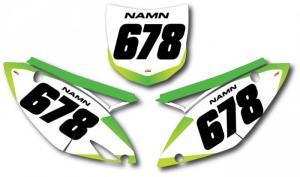 Nr-kit KXF 250 och 450 2009-2011 Light Green