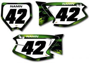 Nr-kit KX 125-250 2003-2012 Dark Waves