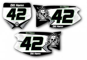 Nr-kit KX 125-250 2003-2012 Decorative Skull